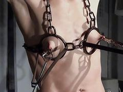 Tit tortured and caged..