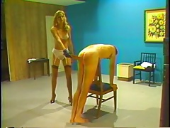 Retro whipping and spanking..