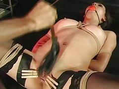 Girl agrees to loathe tied up