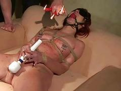Hot sexslave getting..