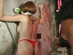 Her sweet ass beat almost red