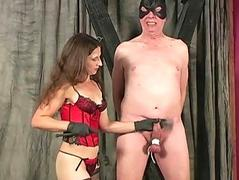 Mistress delivers CBT and..