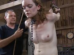 Slave gets ardous also gaoling
